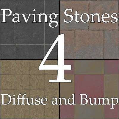 Paving stones collection 02