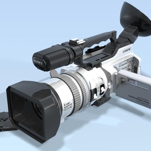 Camcorder. SONY DCR-VX2000e.Sc