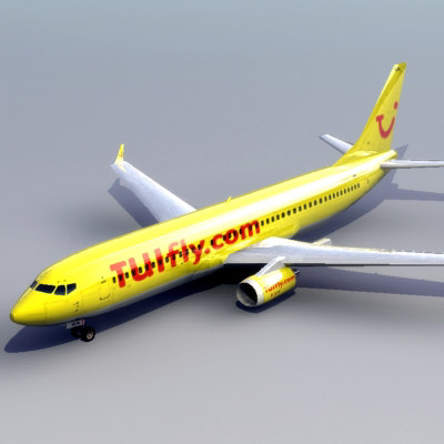 boeing 737-800 737 jet 3d model