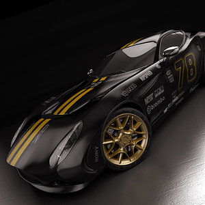 3d model zagato perana z-one 2010
