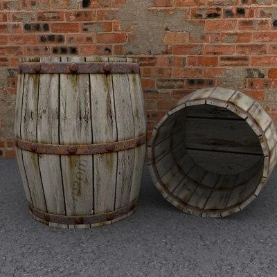 3d rainwater barrel