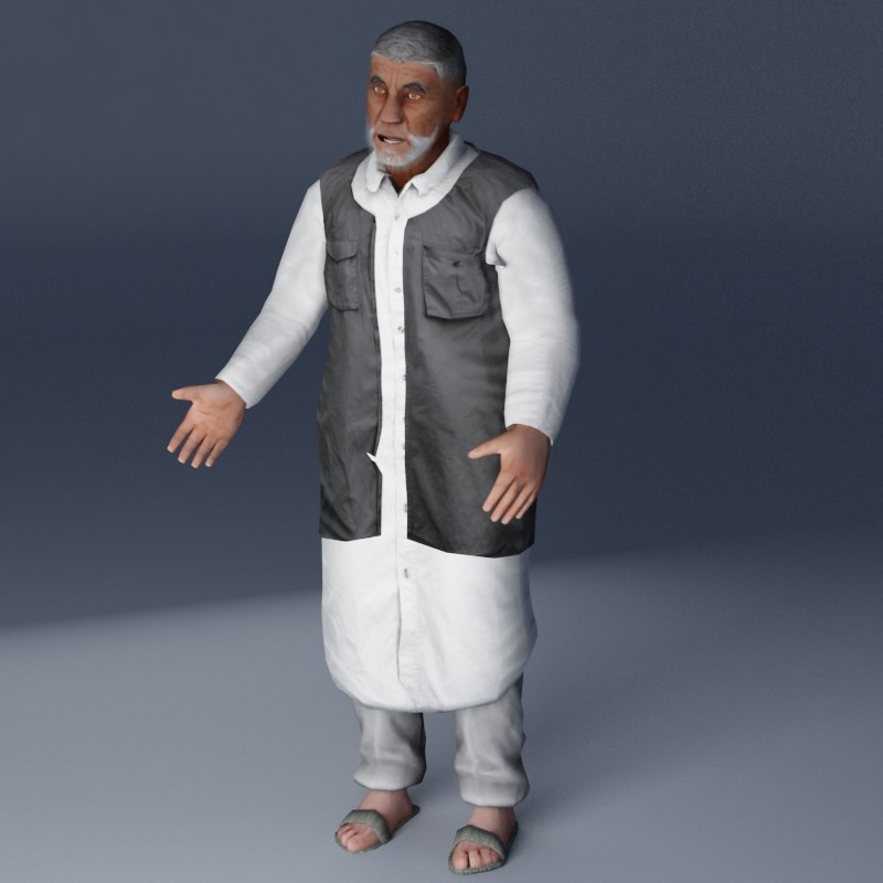 village elder 3d model