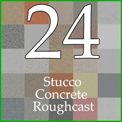 stucco concrete roughcast wall texture collection