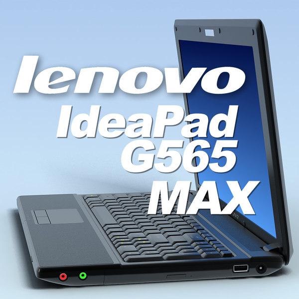 notebook lenovo ideapad g565 3d model