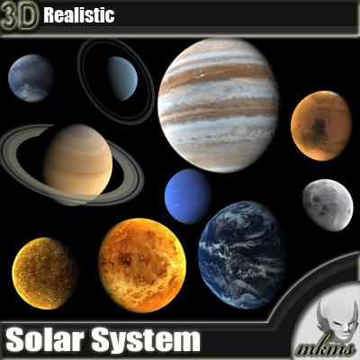 realistic solar system from above - photo #17
