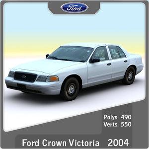 3d 2004 crown victoria