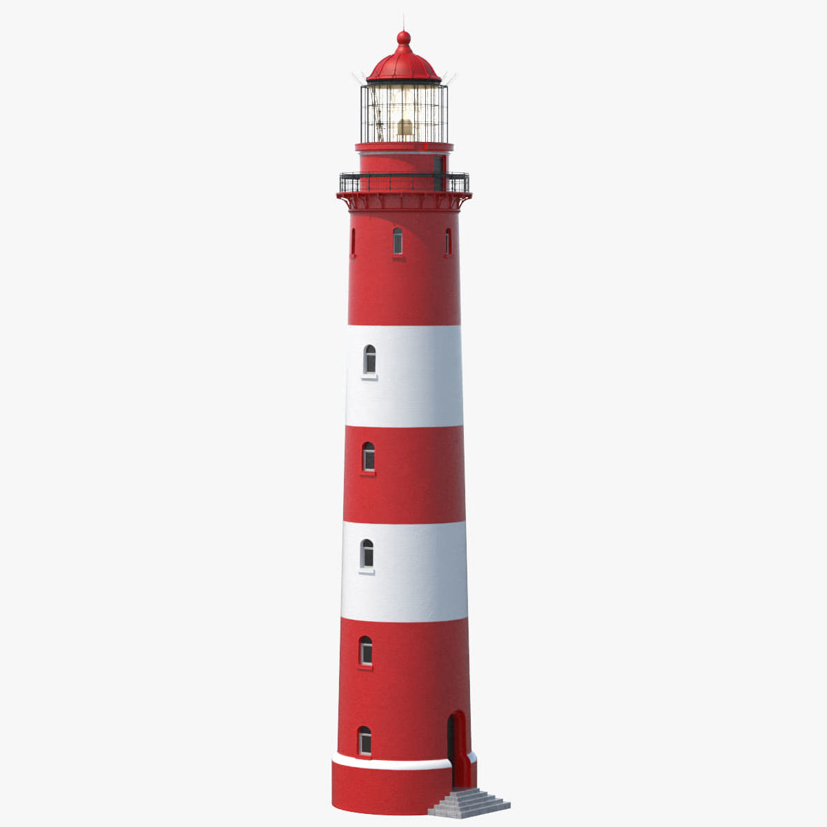 lighthouse 3d model by Tornado Studio