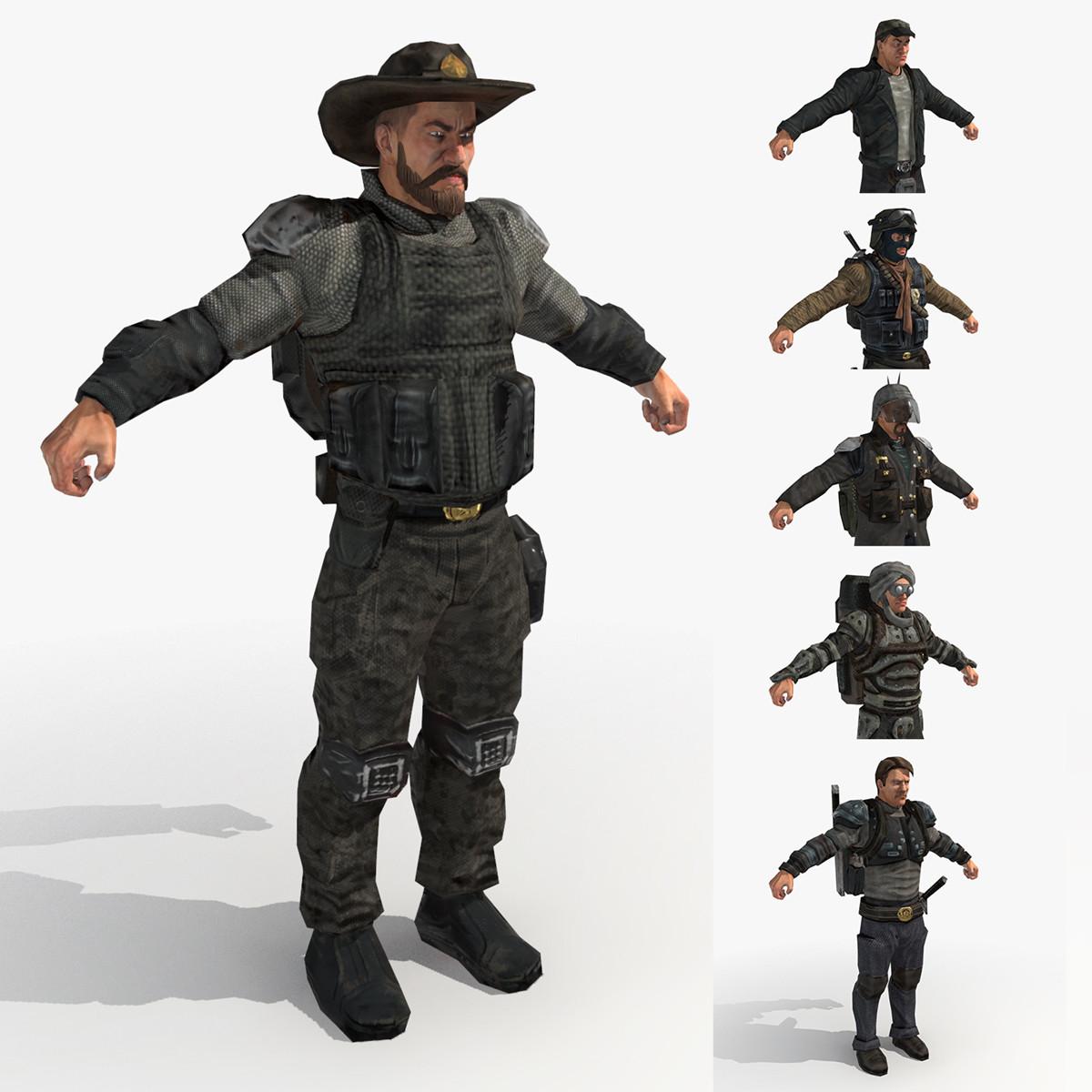 Wasteland 2 Male Ranger